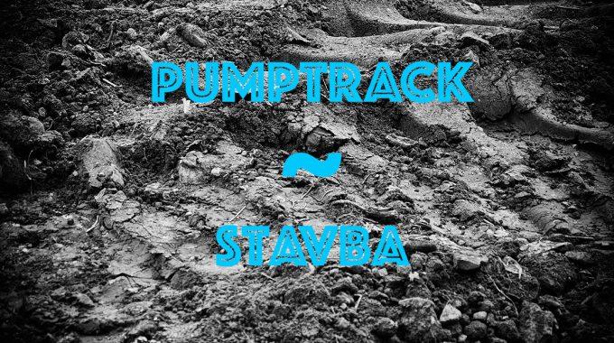 Pumptrack - Stavba