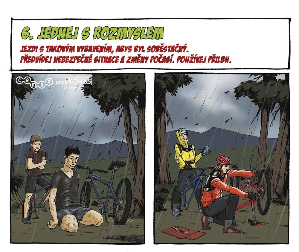 Kodex terénního cyklisty ČEMBA